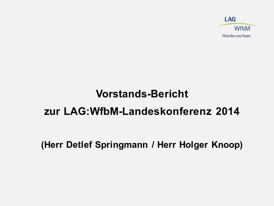 zur LAG:WfbM-Landeskonferenz 2014
