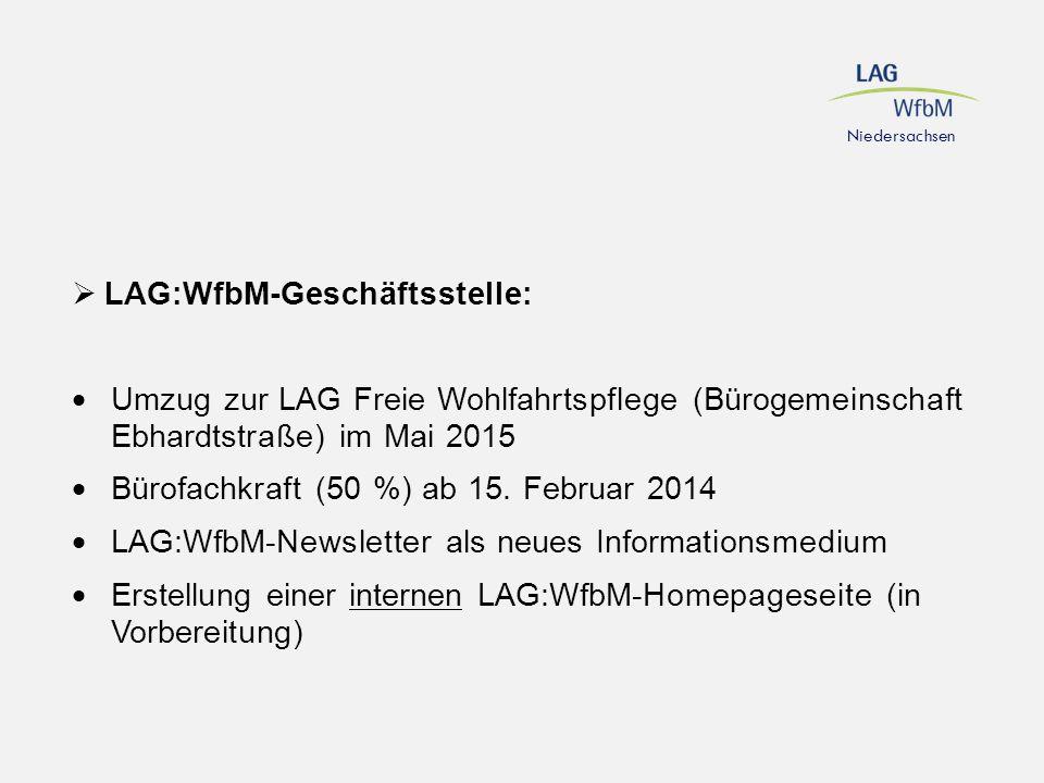 LAG:WfbM-Geschäftsstelle: