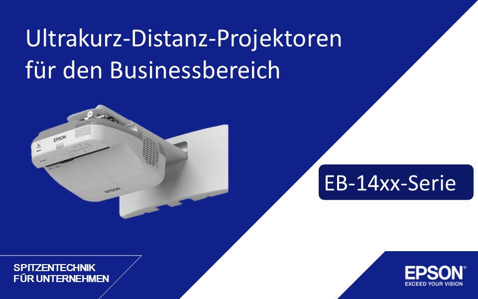 Ultrakurz-Distanz-Projektoren für den Businessbereich