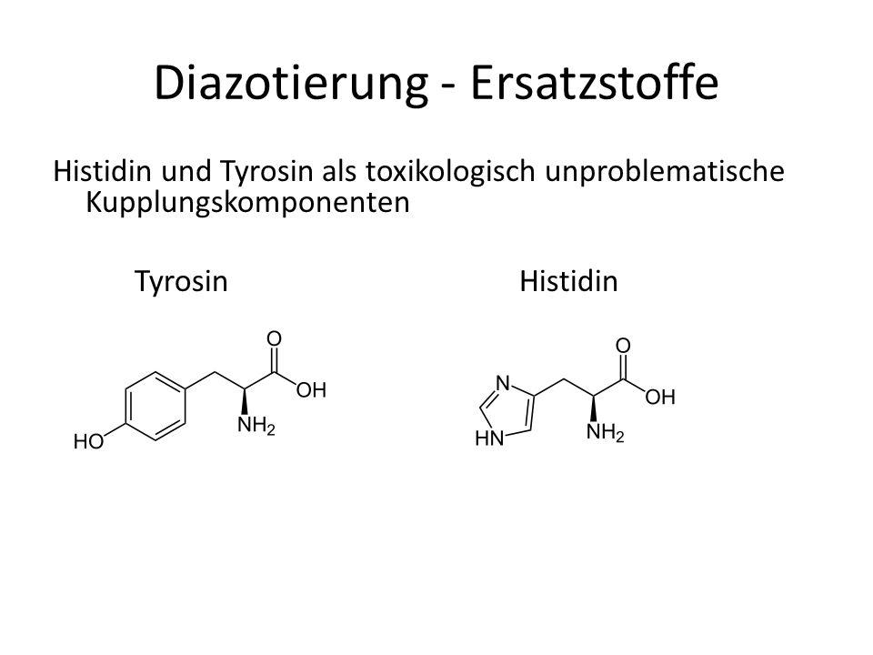Diazotierung - Ersatzstoffe