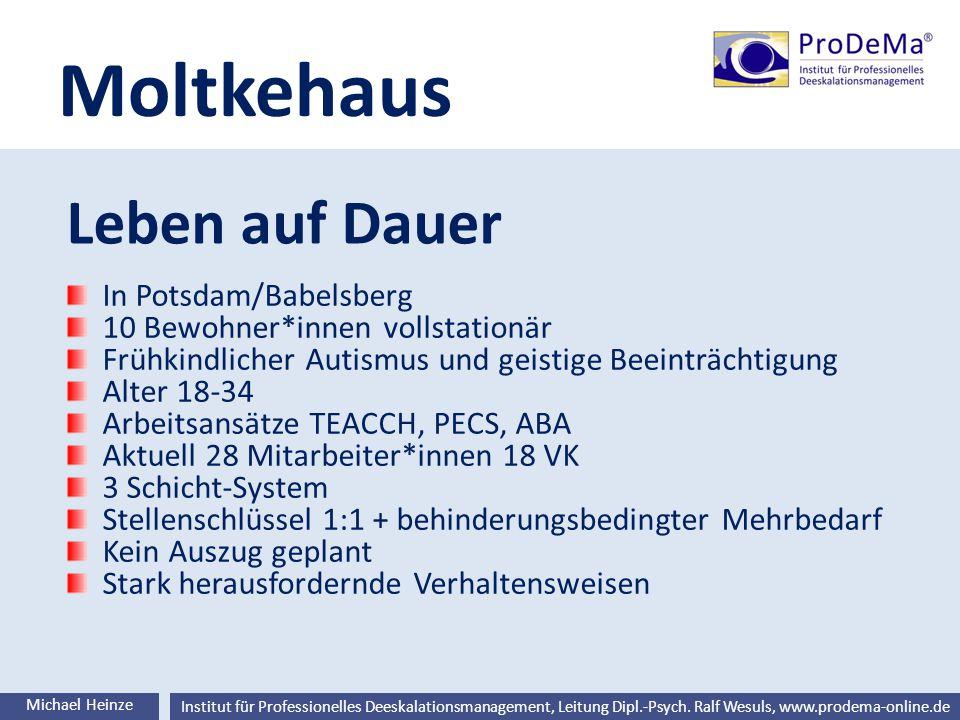 Moltkehaus Leben auf Dauer In Potsdam/Babelsberg