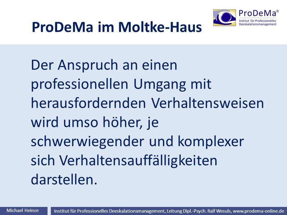 ProDeMa im Moltke-Haus