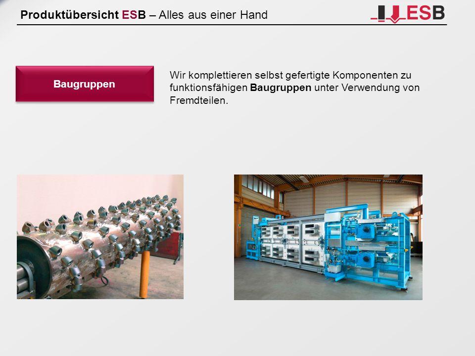 Produktübersicht ESB – Alles aus einer Hand