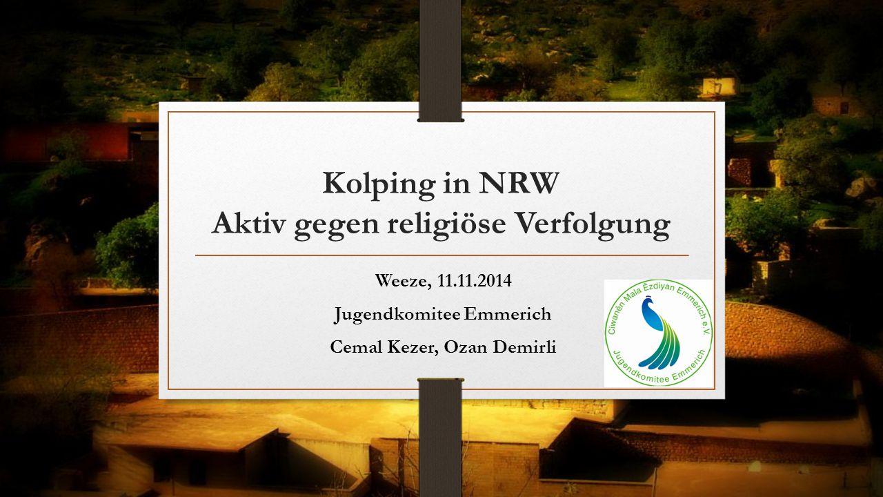 Kolping in NRW Aktiv gegen religiöse Verfolgung