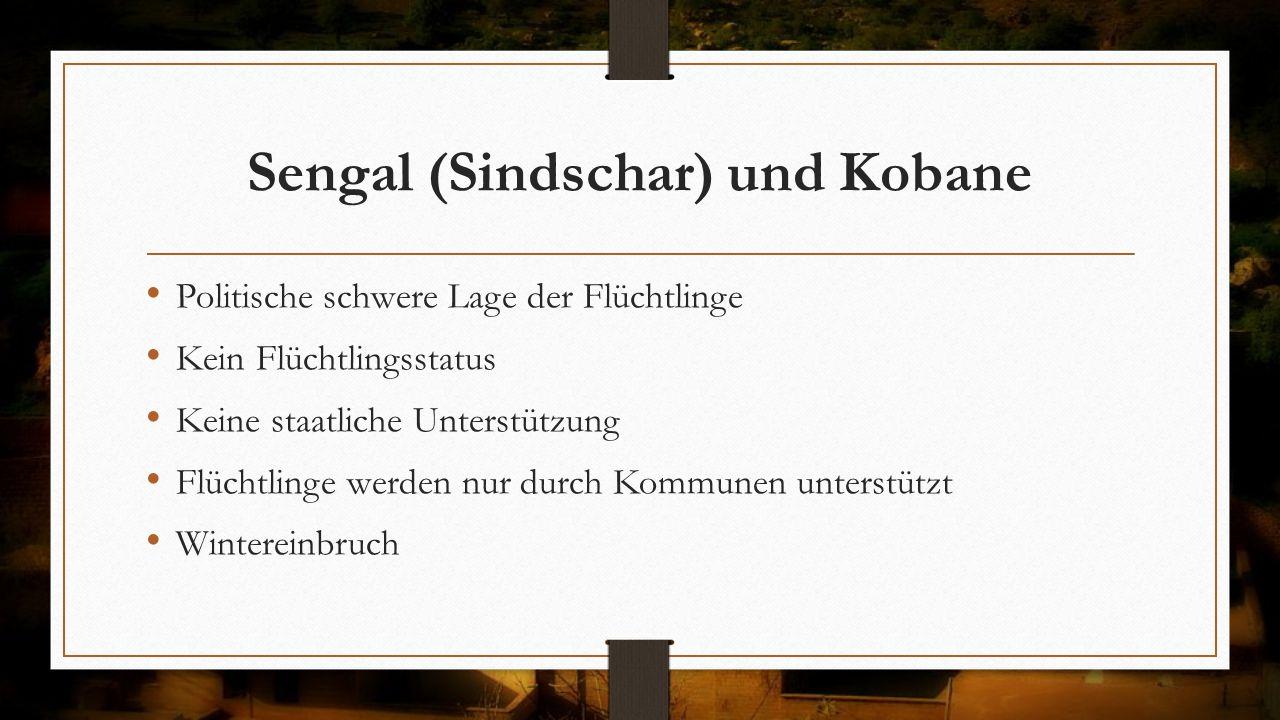 Sengal (Sindschar) und Kobane