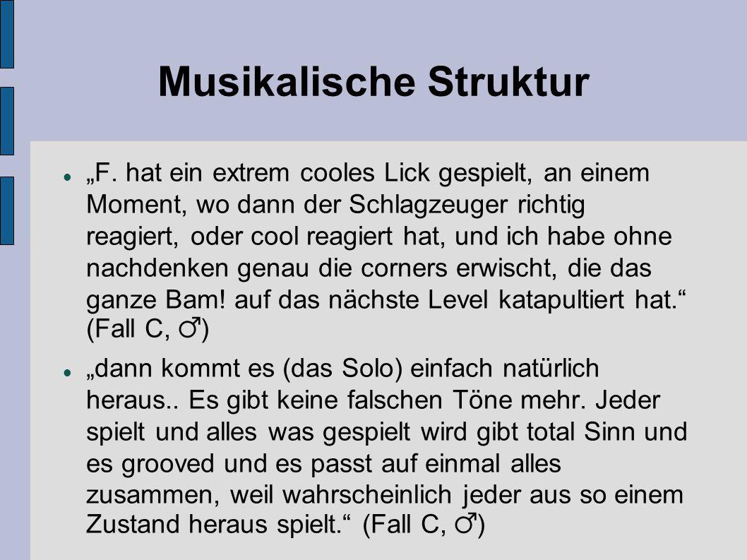 Musikalische Struktur