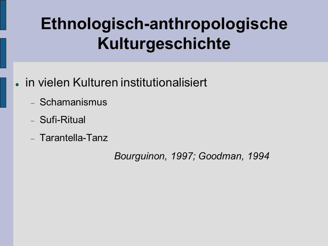 Ethnologisch-anthropologische Kulturgeschichte