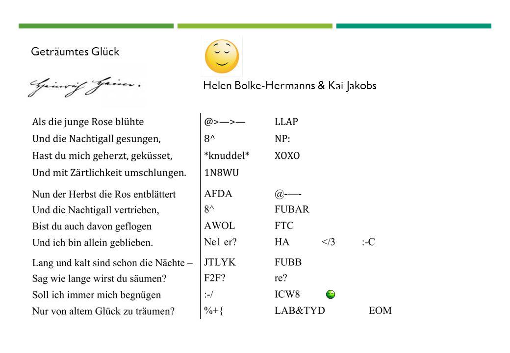 Geträumtes Glück Helen Bolke-Hermanns & Kai Jakobs