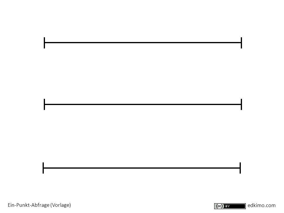Ein-Punkt-Abfrage (Vorlage)
