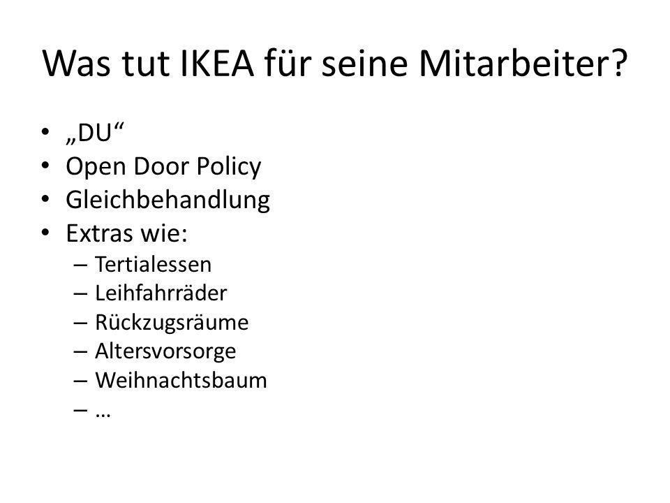 Was tut IKEA für seine Mitarbeiter
