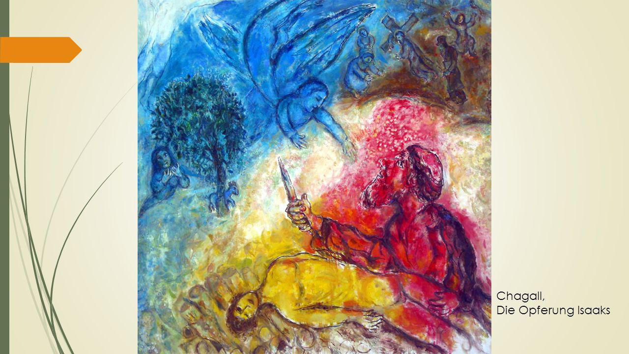 Chagall, Die Opferung Isaaks