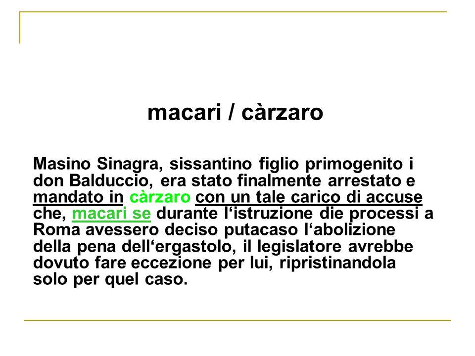 macari / càrzaro