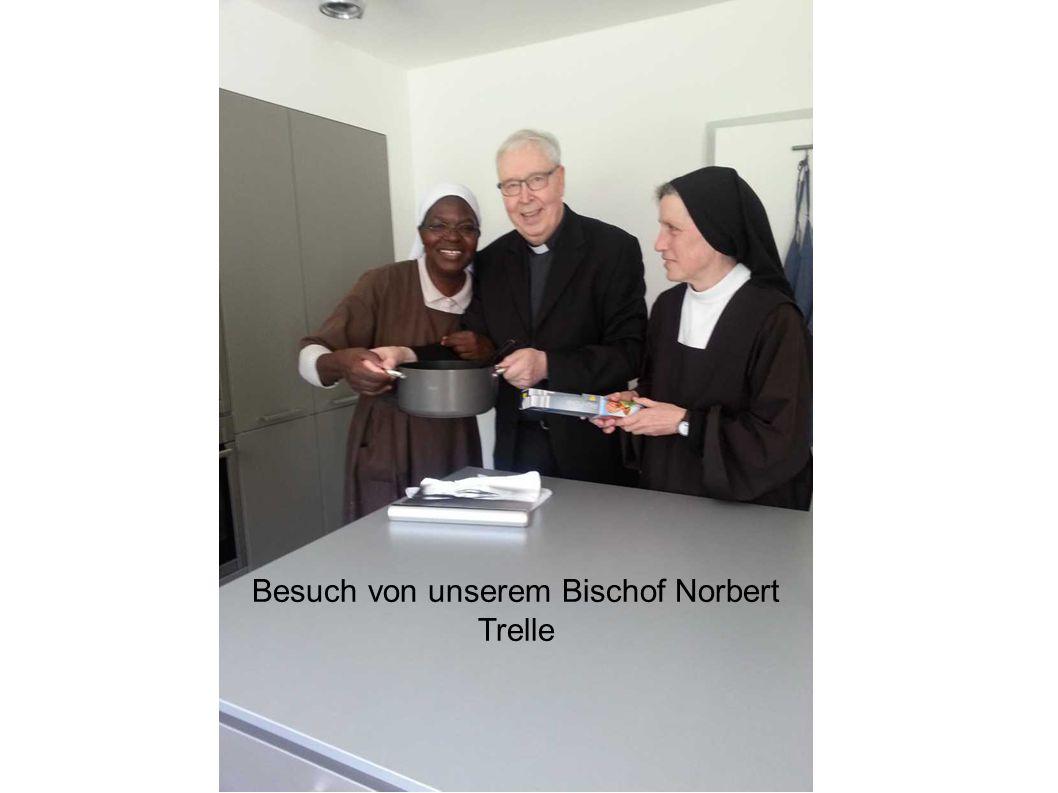 Besuch von unserem Bischof Norbert Trelle