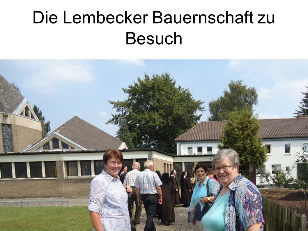 Die Lembecker Bauernschaft zu Besuch