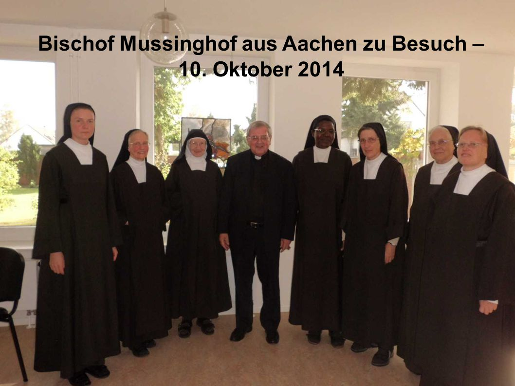 Bischof Mussinghof zu Besuch