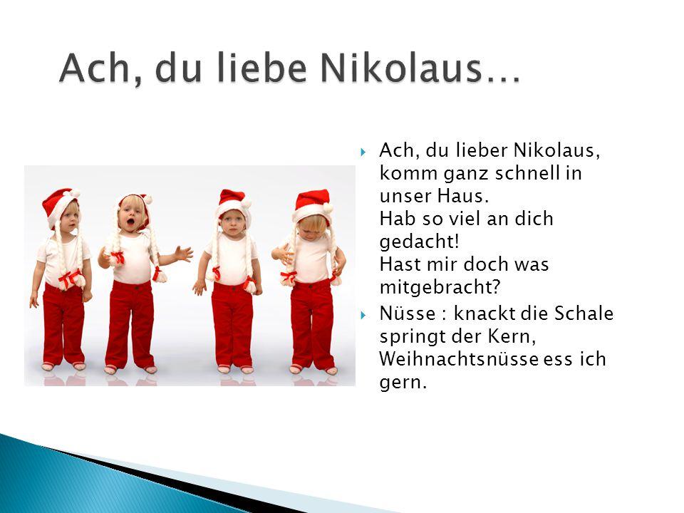 Ach, du liebe Nikolaus…