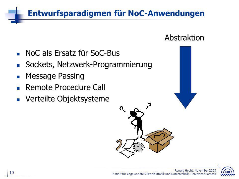 NoC als Ersatz für SoC-Bus
