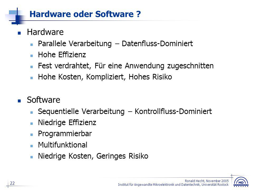 Rekonfigurierbare Hardware
