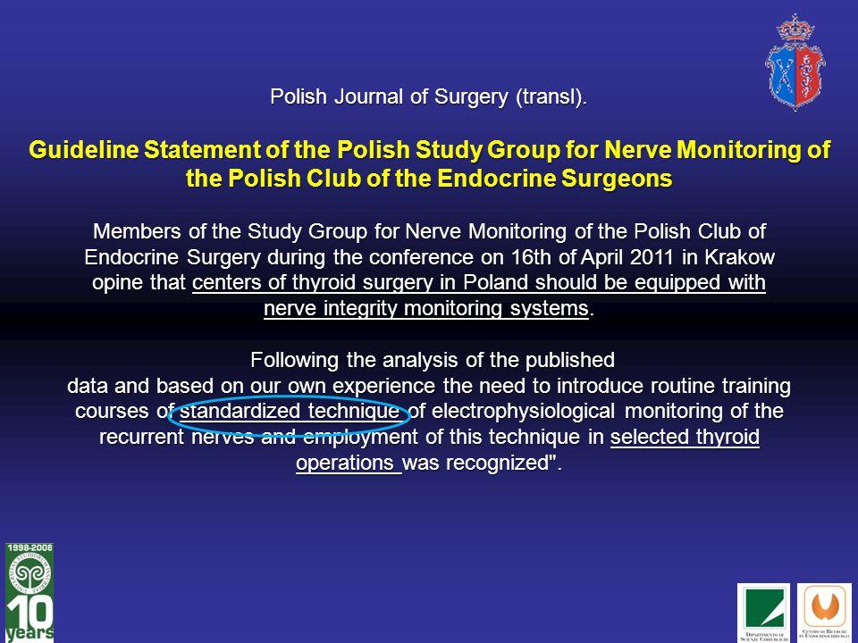 Polish Journal of Surgery (transl)