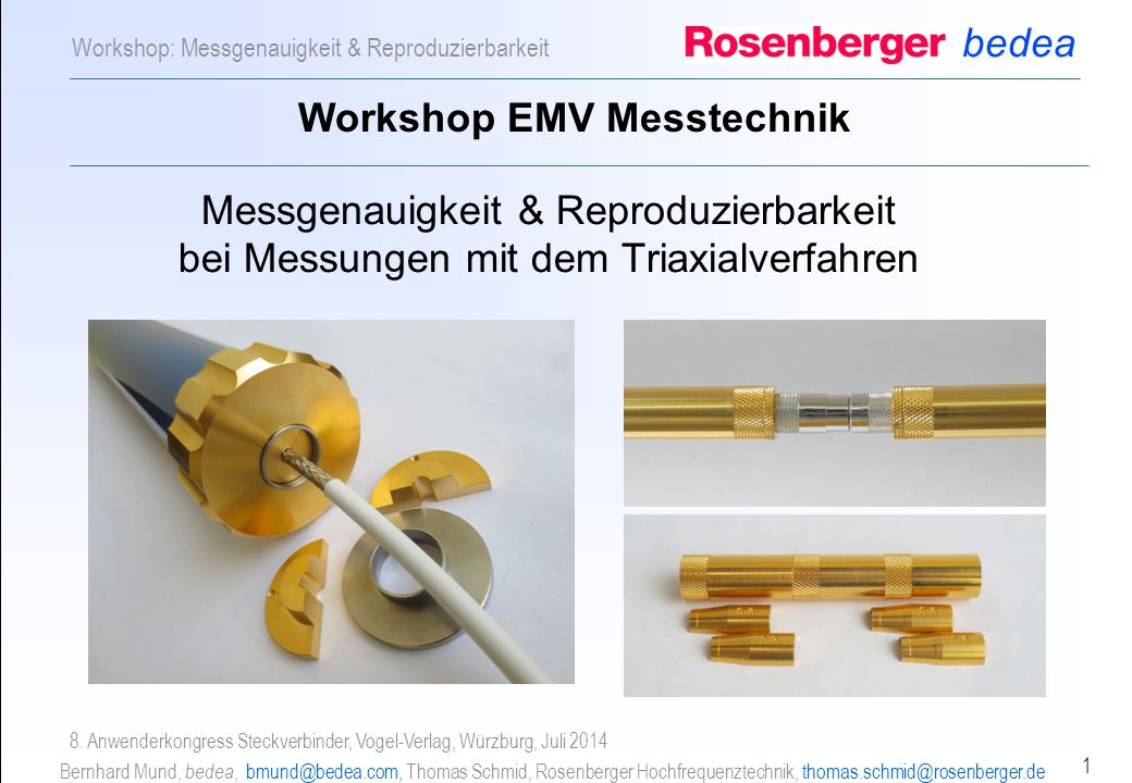 Workshop EMV Messtechnik