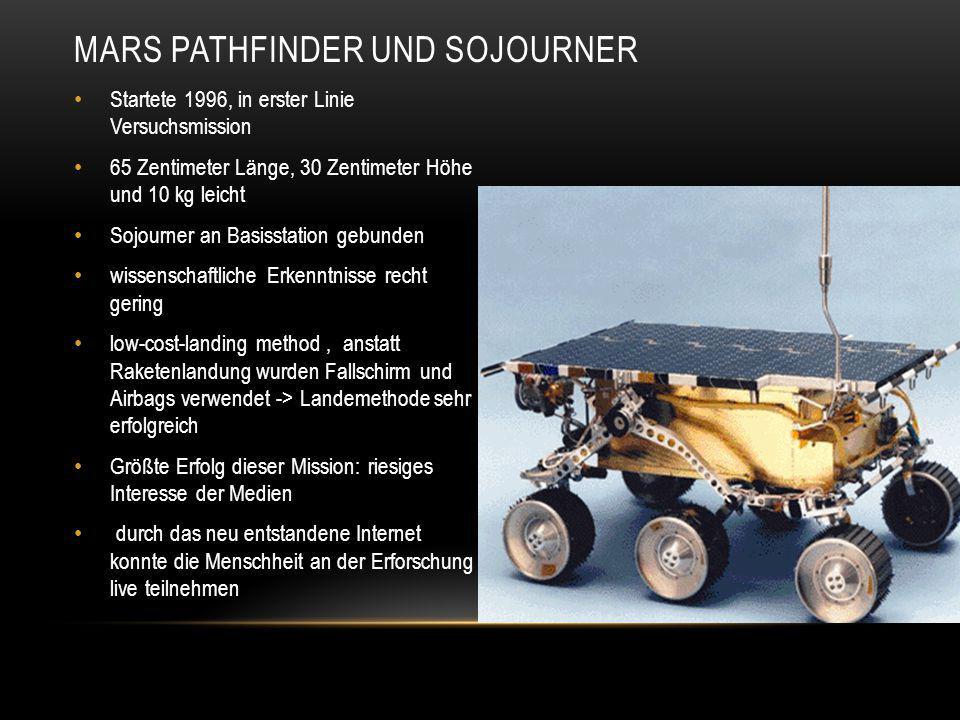 Mars Pathfinder und Sojourner