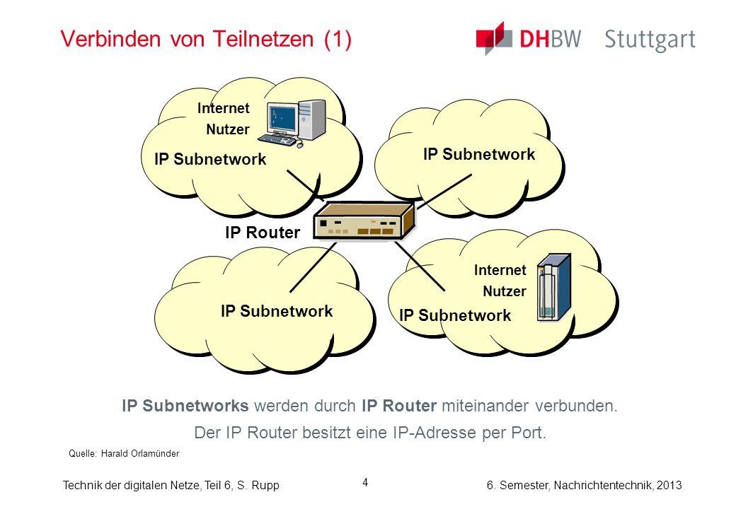 Verbinden von Teilnetzen (1)