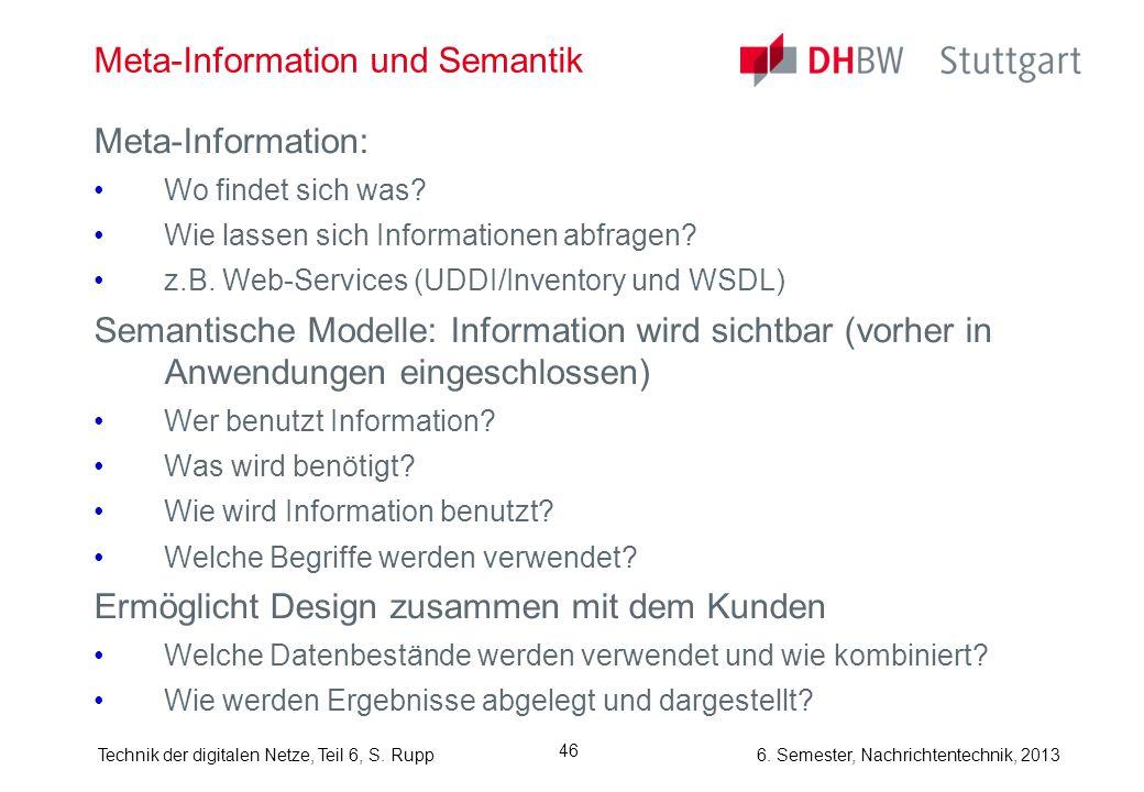 Meta-Information und Semantik