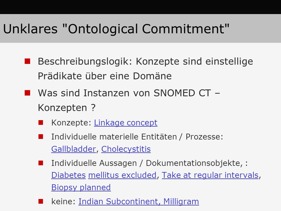 Unklares Ontological Commitment