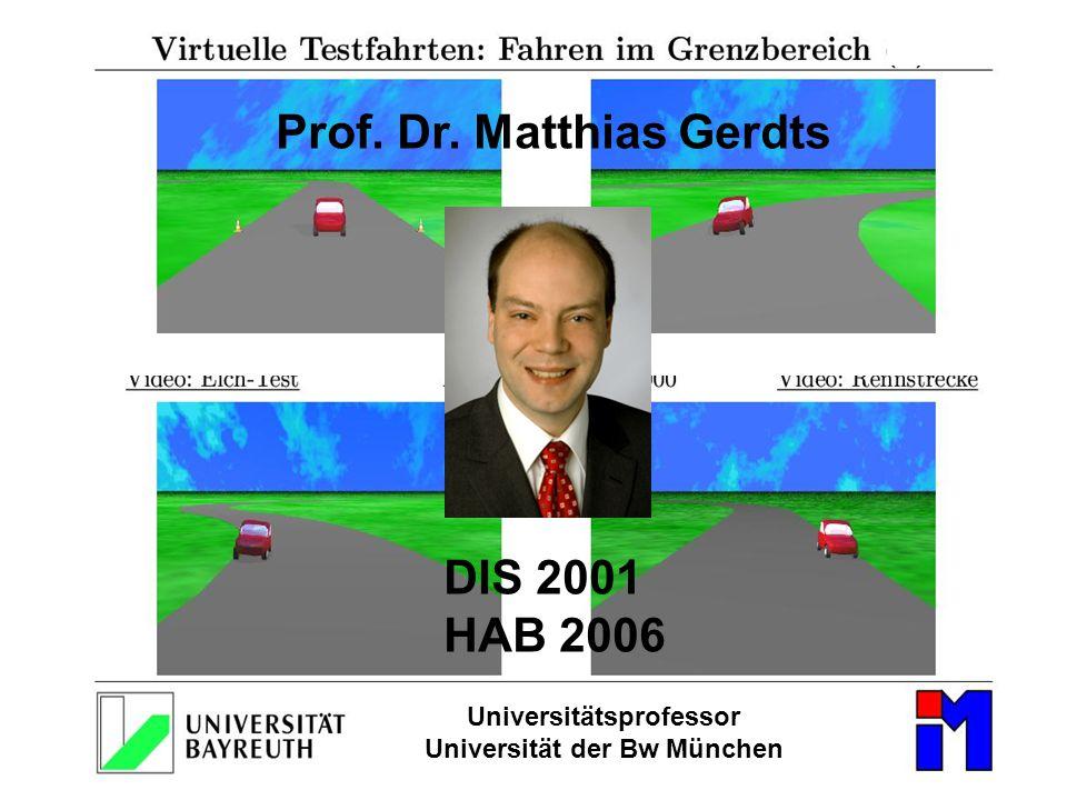 Universitätsprofessor Universität der Bw München