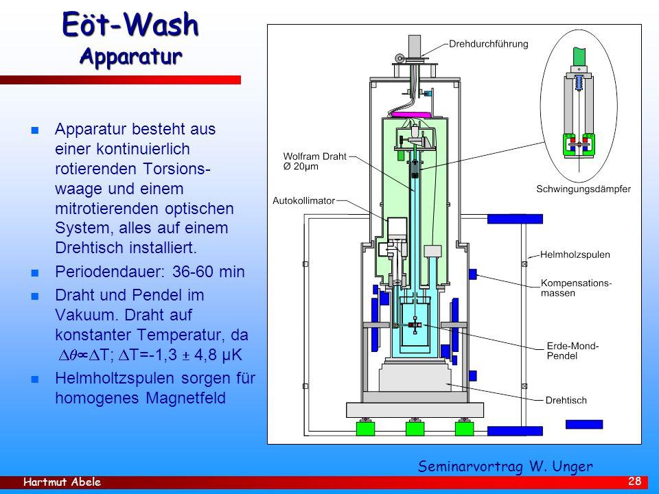 Eöt-Wash Apparatur