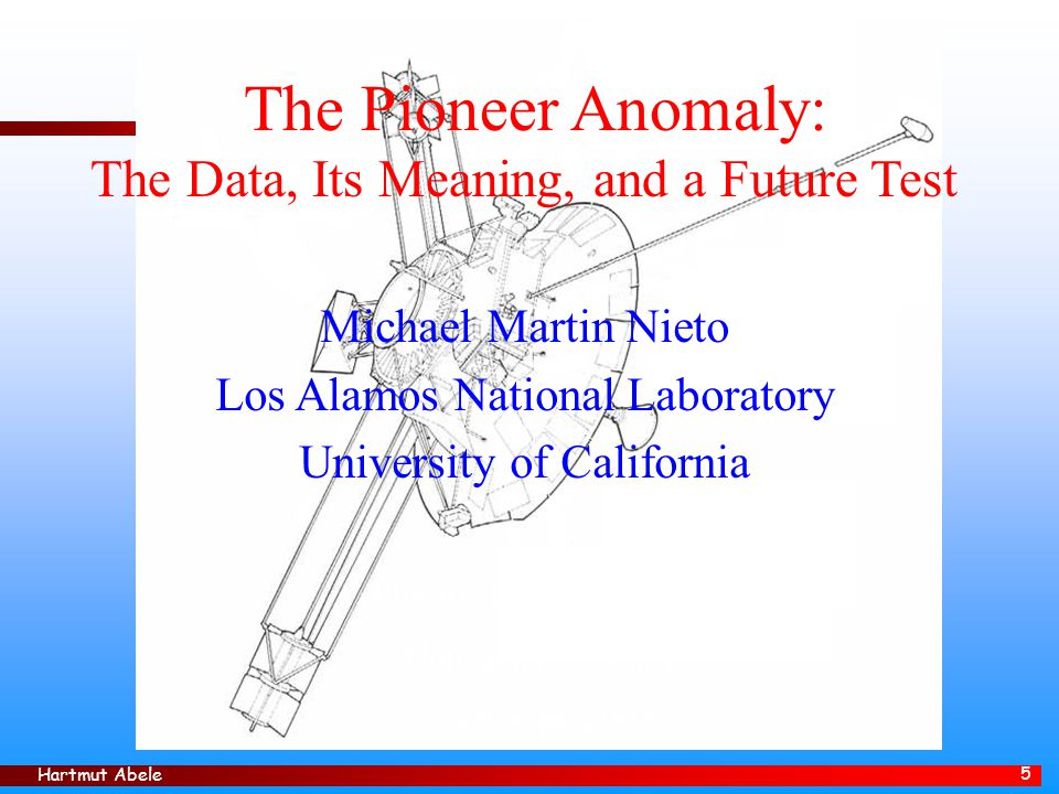 The Pioneer Anomaly: The Data, Its Meaning, and a Future Test