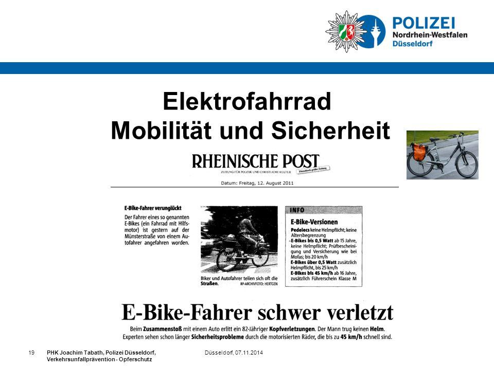 Elektrofahrrad Mobilität und Sicherheit