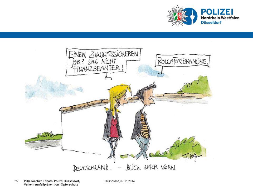 25 PHK Joachim Tabath, Polizei Düsseldorf, Verkehrsunfallprävention - Opferschutz.