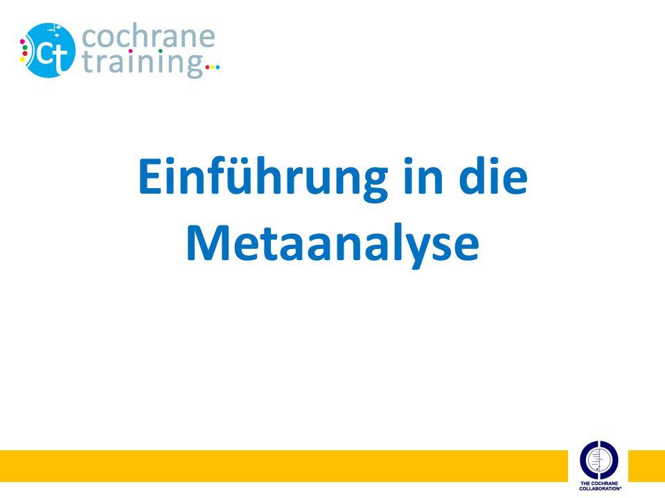Einführung in die Metaanalyse