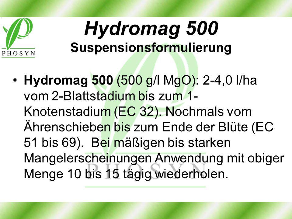 Hydromag 500 Suspensionsformulierung