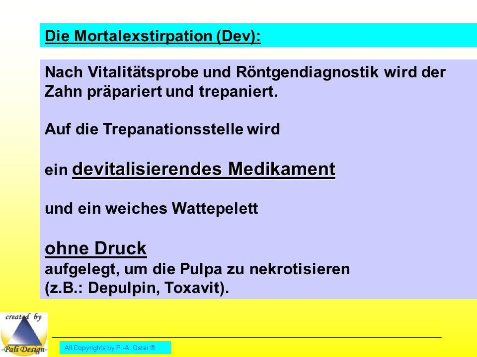ohne Druck Die Mortalexstirpation (Dev):