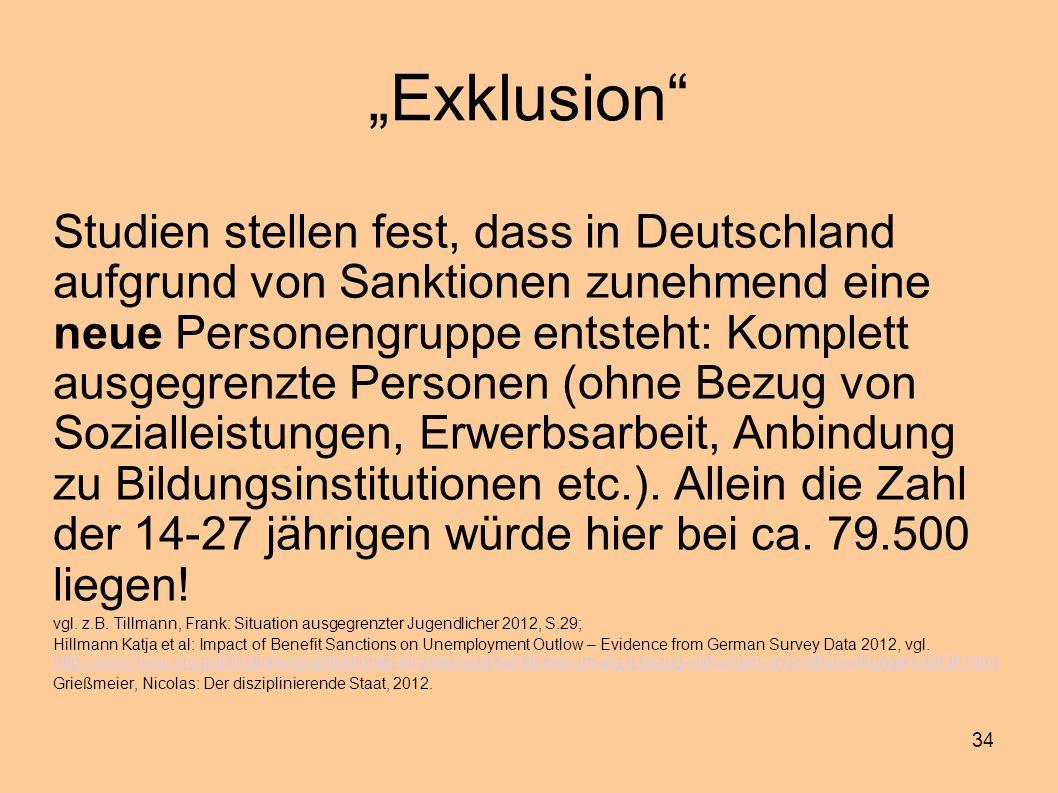 """Exklusion"