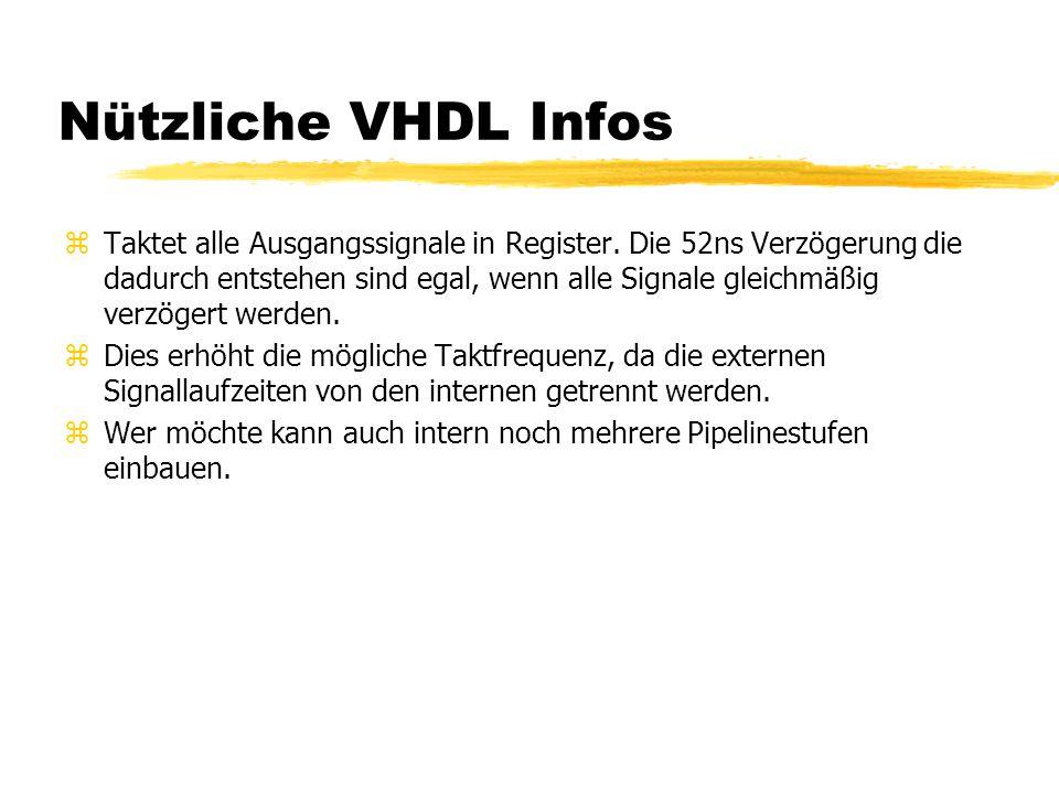 Nützliche VHDL Infos