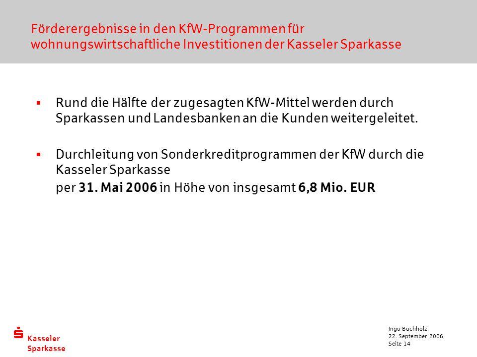 per 31. Mai 2006 in Höhe von insgesamt 6,8 Mio. EUR