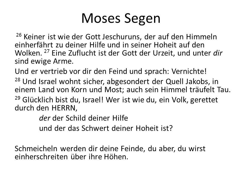 Moses Segen