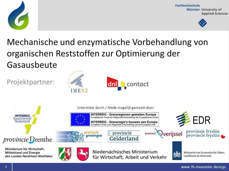 Unterstützt durch / Mede mogelijk gemaakt door: