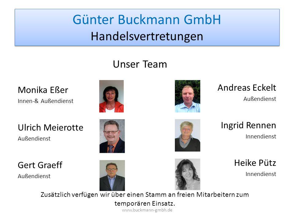 Günter Buckmann GmbH Handelsvertretungen