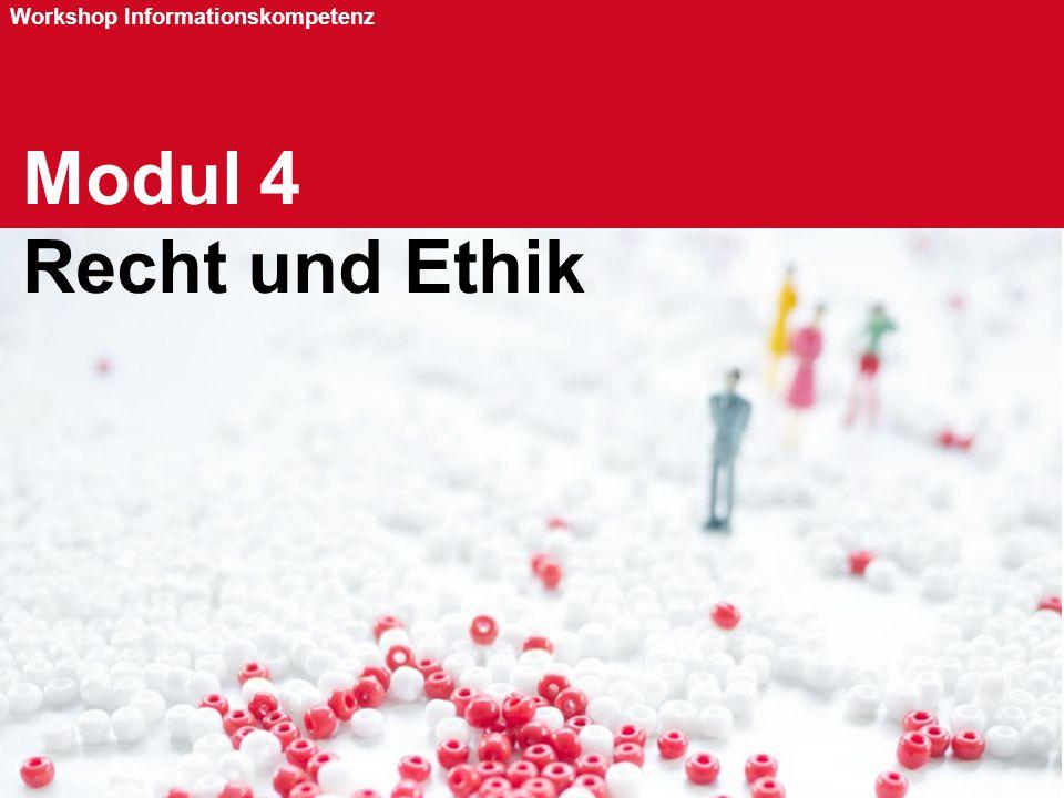 Modul 4 Recht und Ethik