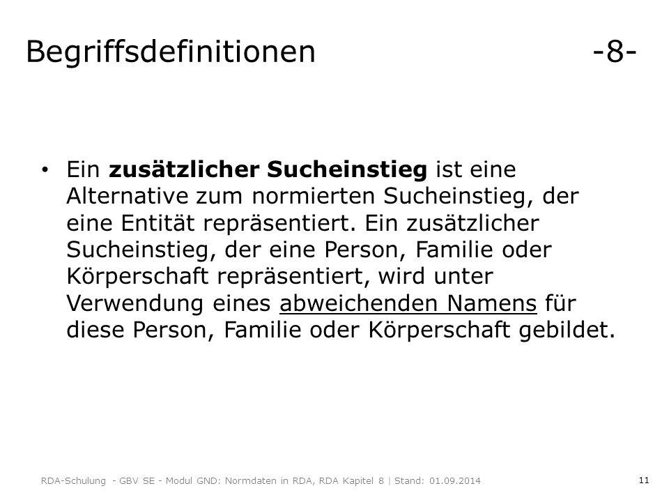 Begriffsdefinitionen -8-
