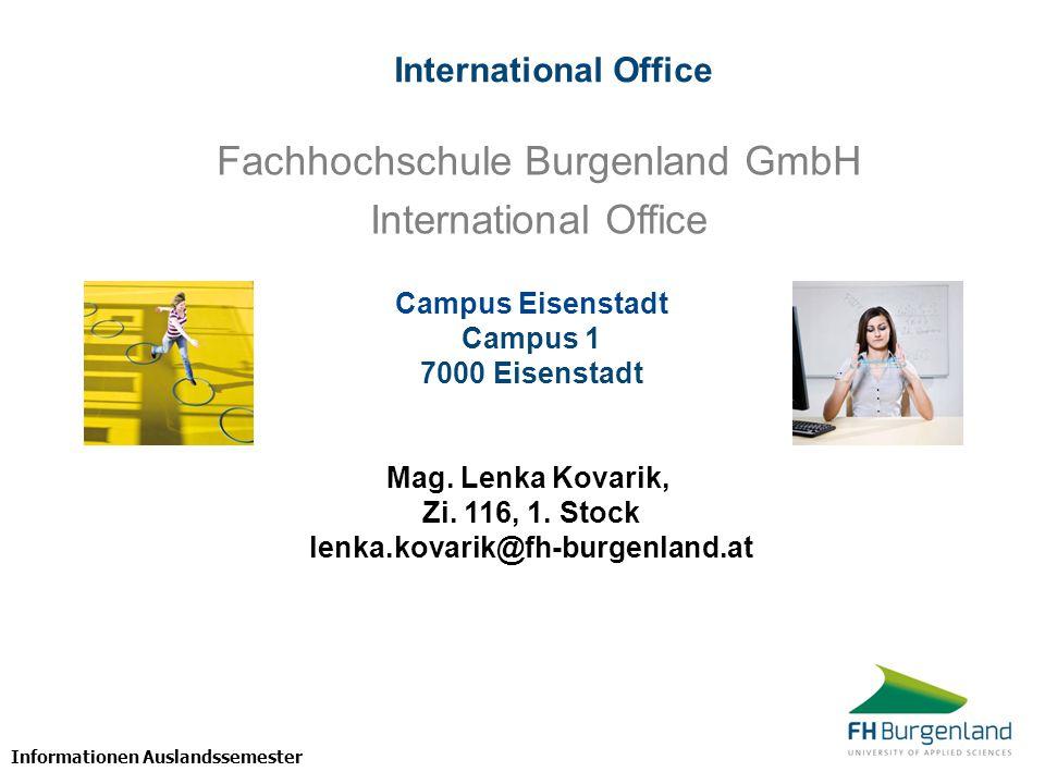 Fachhochschule Burgenland GmbH