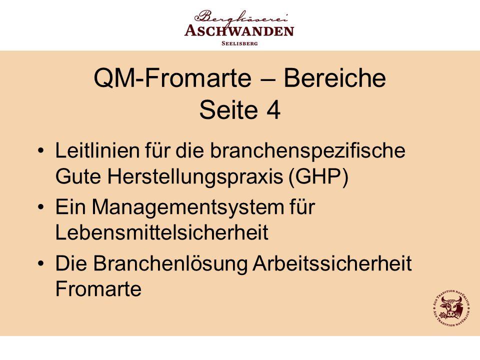 QM-Fromarte – Bereiche Seite 4
