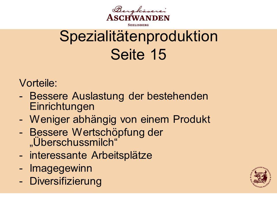 Spezialitätenproduktion Seite 15