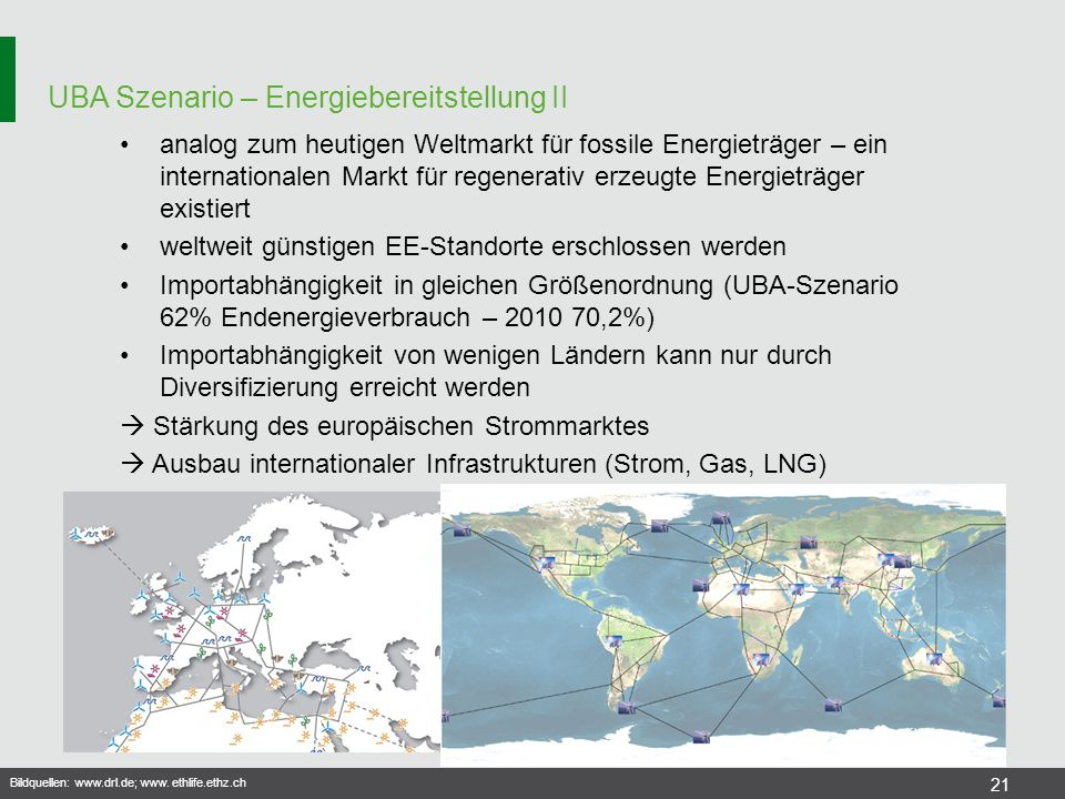 UBA Szenario – Energiebereitstellung II
