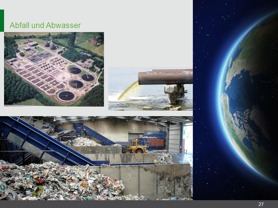 Abfall und Abwasser