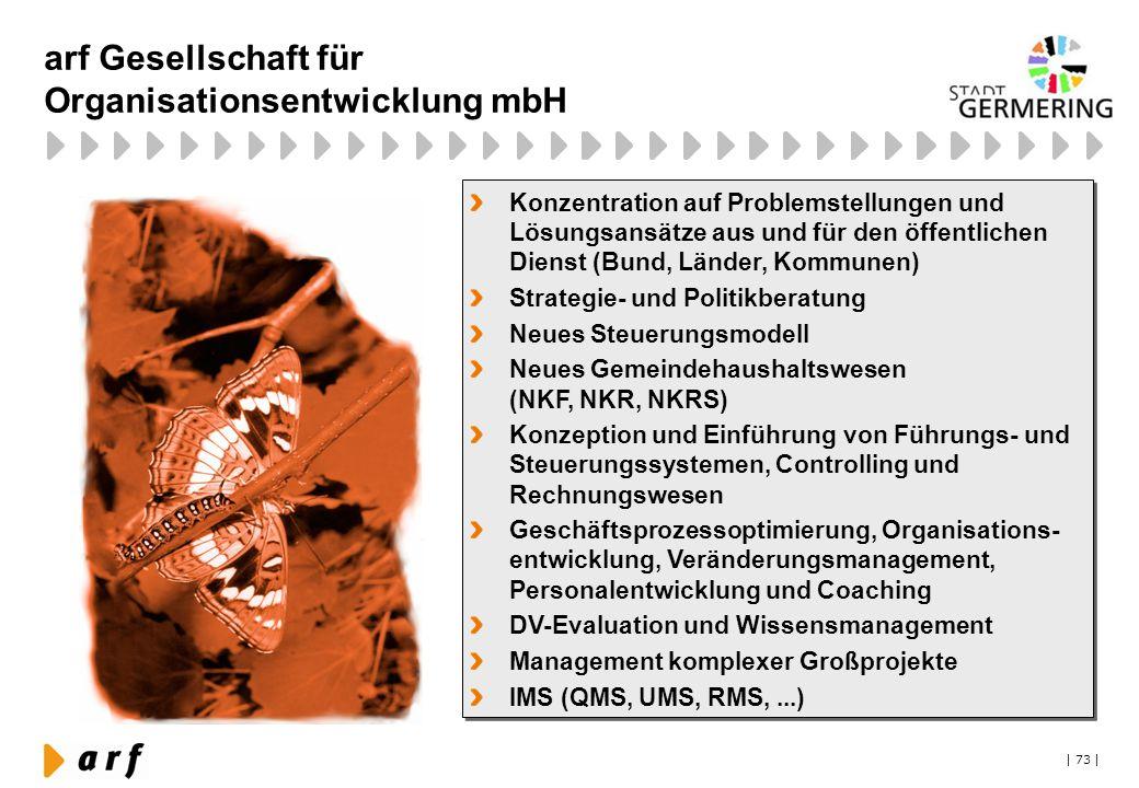 arf Gesellschaft für Organisationsentwicklung mbH